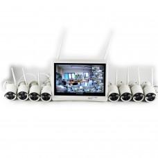Kit videosorveglianza - SMART WiFi 8 960 M12W